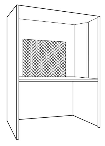 Simple cooking enclosure
