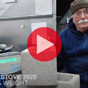 Thumbnail from Rocket Stove 2020 video about height and weight